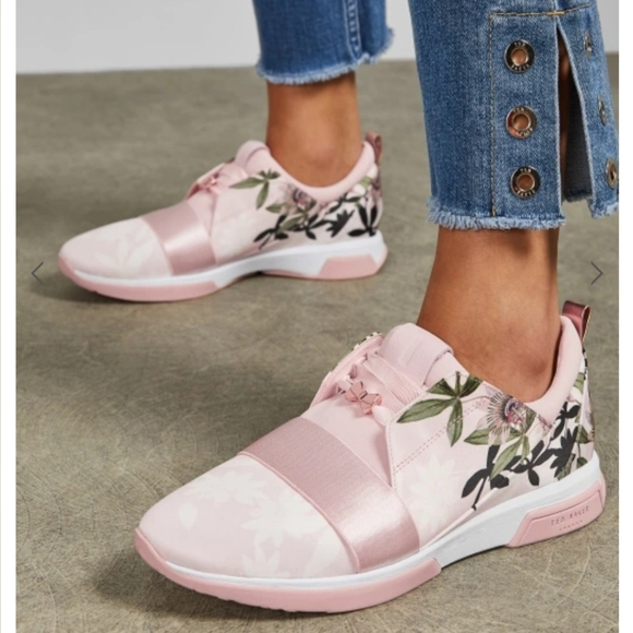 Ted Baker Shoes | Nwot Baby Pink Floral